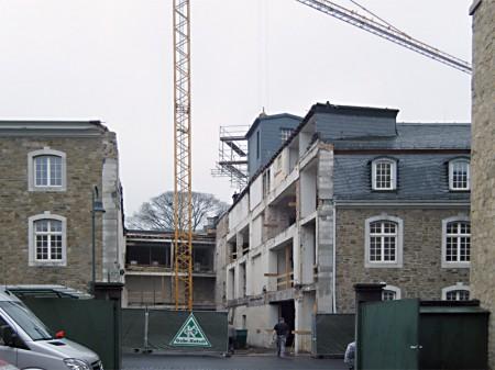 Bauen in historischem Bestand - Innenhof