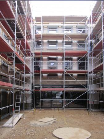 Altbau und Historischer Baubestand, Innenhof in denkmalgeschützter Anlage