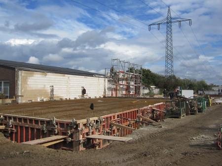 Industriebau Neubau städtischer Bauhof