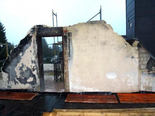 Brandschaden Einfamilienhaus
